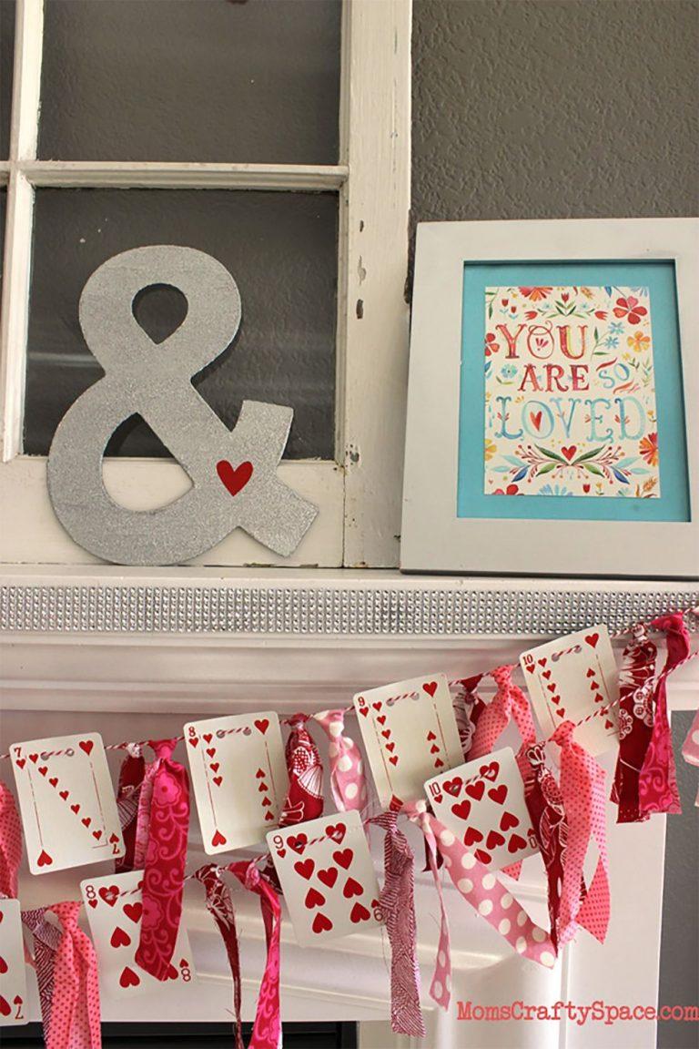 Valentin-napi dekoráció házilag – Így lesz szép a szerelmesek ünnepe
