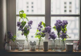tavaszi ablakdíszek