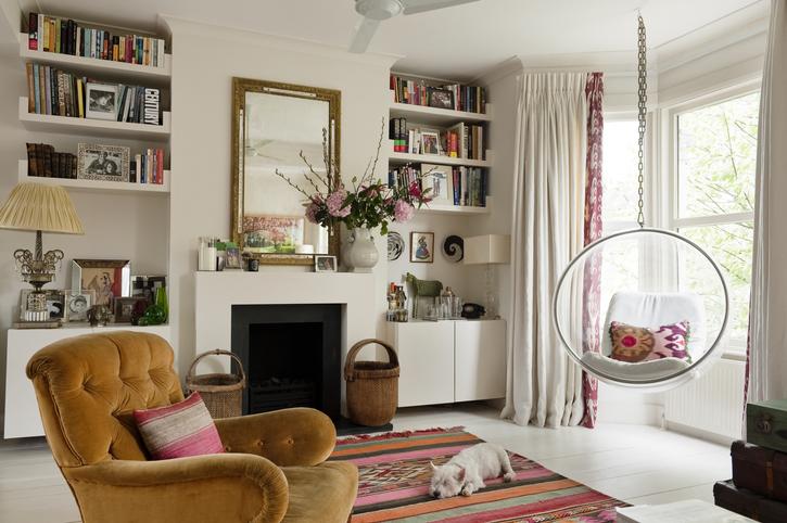 7 tökéletes helyiség, ami segít vintage hangulatba hozni az otthonod