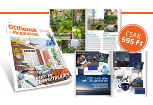 Megjelent az Otthonok&Megoldások magazin tavaszi száma – Keresd az újságárusoknál!