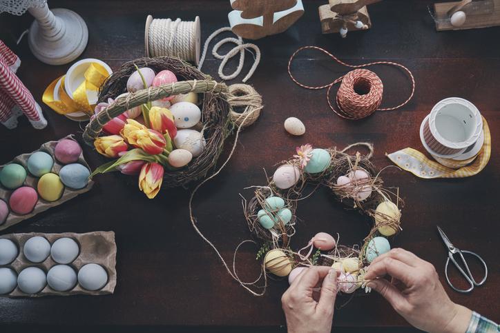 3+1 trendi DIY húsvéti ajtódísz – Mutatjuk, hogyan készítsd el őket!