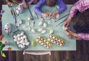 húsvéti lakásdekor saját kezűleg
