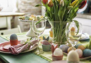 húsvéti asztaldísz