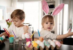 húsvéti DIY gyerekeknek