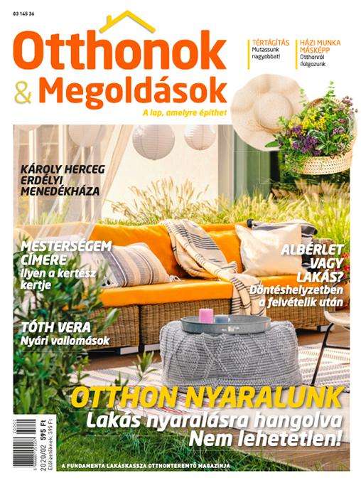 Otthonok&Megoldások – A lap, amelyre építhet!