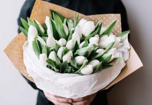 anyák napi DIY virágcsokor