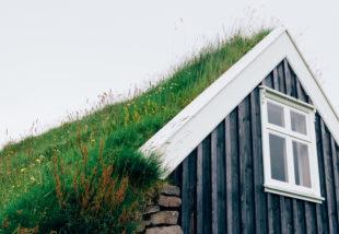 zöldtetős házak