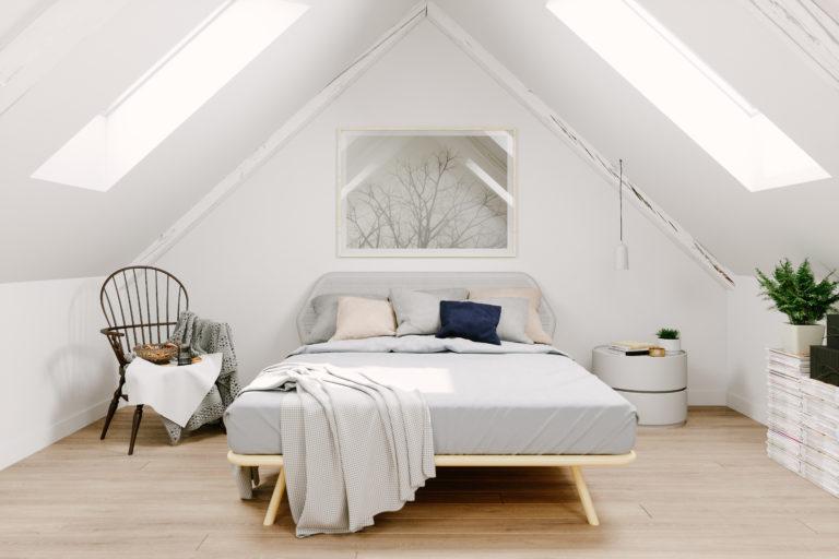 4 helyiség padlástérre szabva – Nem lesz többé kérdés, hogy belevágj-e a tetőtér beépítésébe