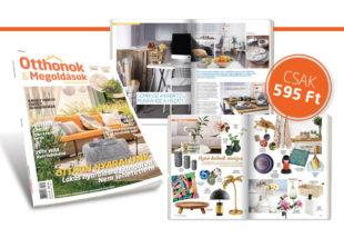 Megjelent az Otthonok&Megoldások magazin nyári száma – Akár online is beszerezheted!