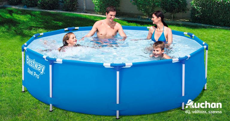 Saját medencében végighűsölni a nyarat?