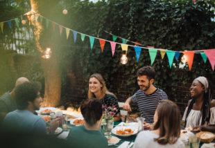 kerti parti ötletek