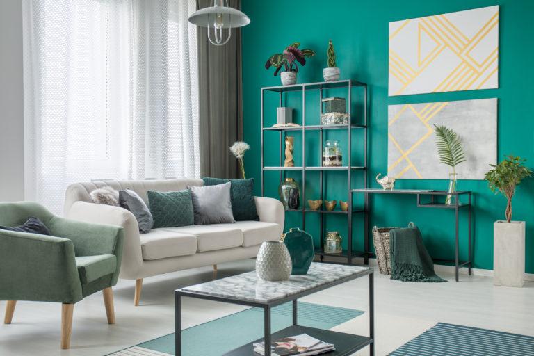 Szürke, barna, zöld? – Milyen színű nappali illik hozzád a legjobban?