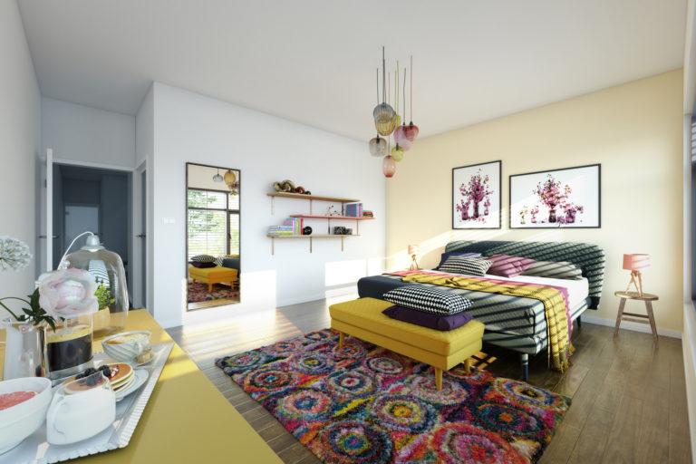 Túl unalmas a plafonod? Íme 5 dekorációs ötlet, ami segít összhangba hozni a szobával