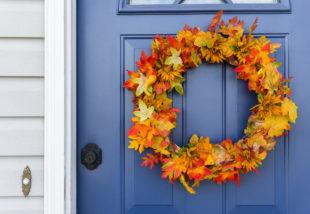 DIY őszi ajtódísz – Inspiráló ötletek, ha valami különlegesre vágysz