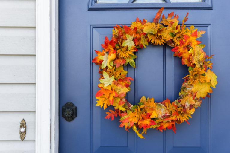 Itt van az ősz, itt van újra! Dekoráljuk ennek jegyében a bejárati ajtót