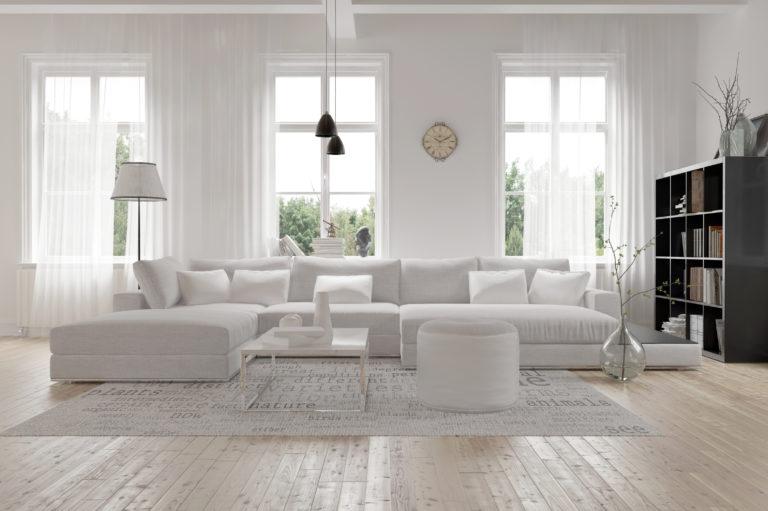 Fehér nappali bútorod van? Így válassz hozzá kiegészítőket!
