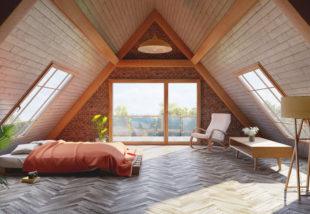 Hálószoba a padlástérben – Inspiráló ötleteinket látva te is akarni fogod
