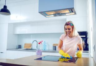 5 olcsó és egyszerű praktika konyha takarításhoz