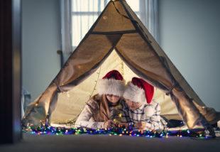 #Karácsonyi készülődés 11. – Ilyen egy ünneplőbe öltöztetett gyerekszoba