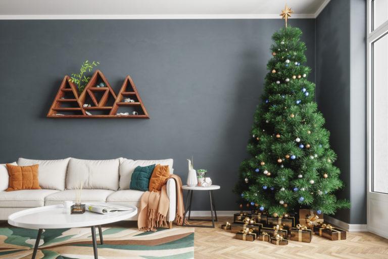 #Karácsonyi készülődés 7. – Ilyen egy ünneplőbe öltöztetett nappali