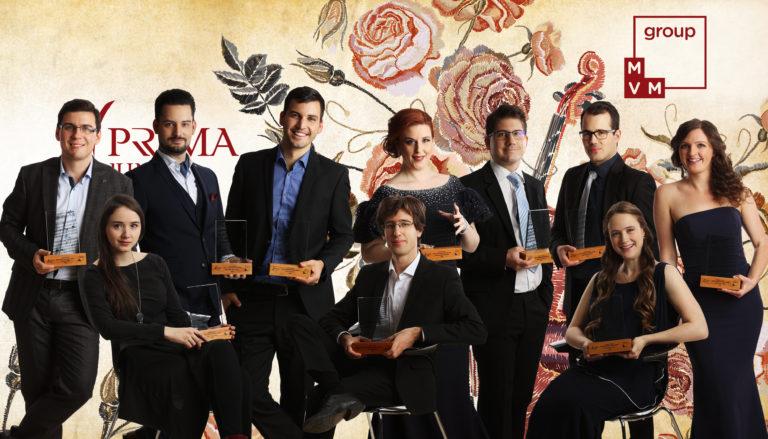A zeneművészet fiatal tehetségeit díjazta az MVM