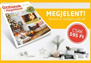 Nálunk már karácsony van: megjelent az Otthonok&Megoldások magazin téli száma