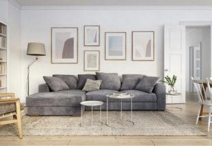Így tedd izgalmassá a szürke kanapét – 4 szuper tipp és trükk