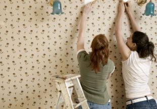 3 hatásos módszer a régi tapéta eltávolítására – Egyszerűbbek, mint gondolnád