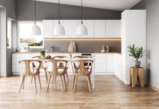 A fehér konyhabútor előnyei és hátrányai – Be merjük vállalni?