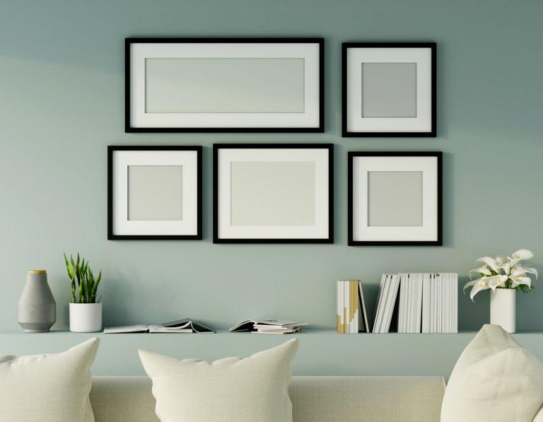 Faldekorációs ötletek kevés pénzből – Így dekoráld pénztárcabarát módon az üres falakat