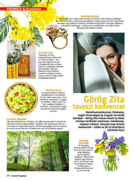 Itt a tavasz, és vele együtt a színekkel és szépséggel teli Otthonok&Megoldások magazin!