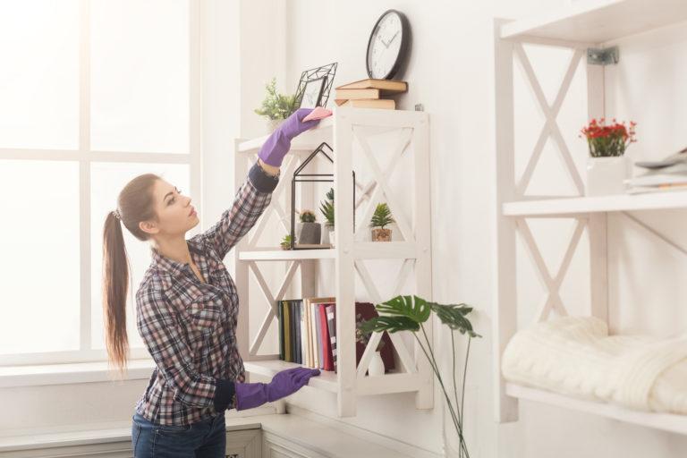 Többé nem kell port törölnöd – Készíts házilag antisztatikus spray-t