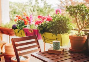 Kicsi az erkélyed? – Ezzel a 6 tippel tökéletesen be tudod rendezni