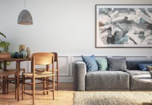 A szürke az igazi? Otthonos szürke nappali inspirációk az Instagramról