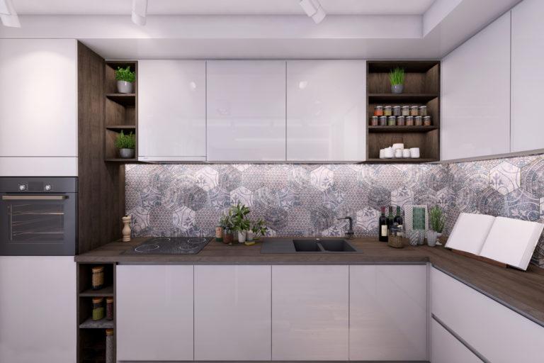 Kis alapterületű konyha berendezése stílusosan és hasznosan