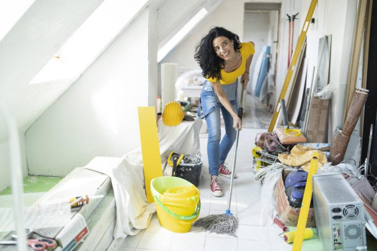 Mutatjuk, hogyan tedd rendbe a padlást