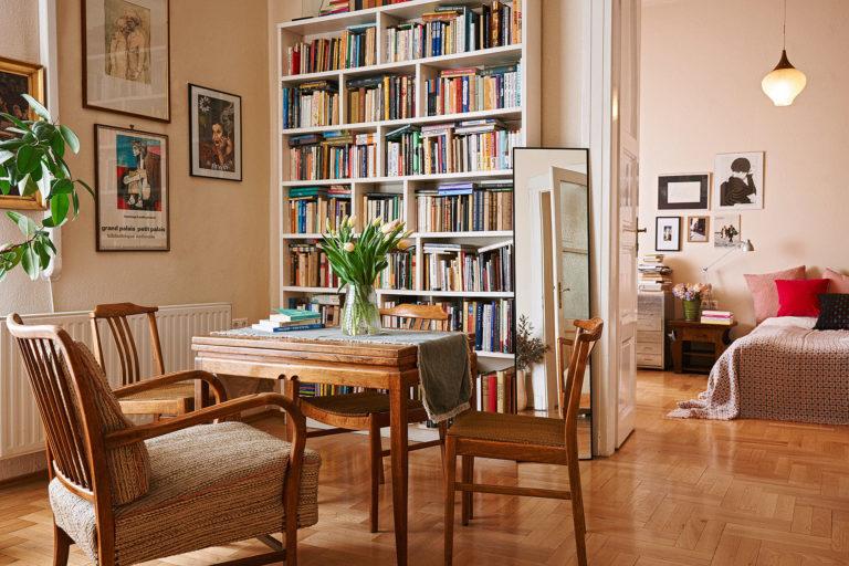 Franciás sikk és romantika – Vágó Réka cipőtervező otthona