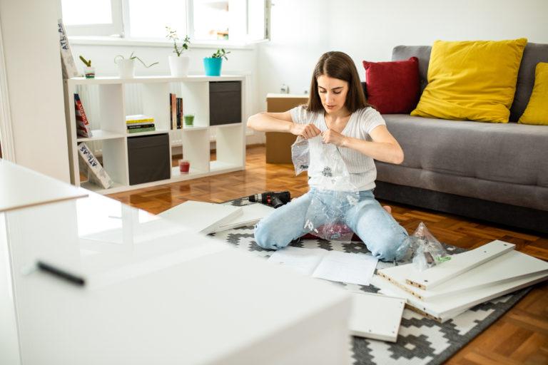 Így szereld össze pikk-pakk a bútorokat – Ezt az 5 tippet fogadd meg!