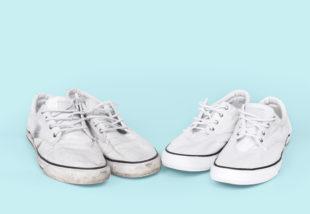 Így marad tiszta a kedvenc fehér sportcipőd! Íme, 6 hatékony trükk