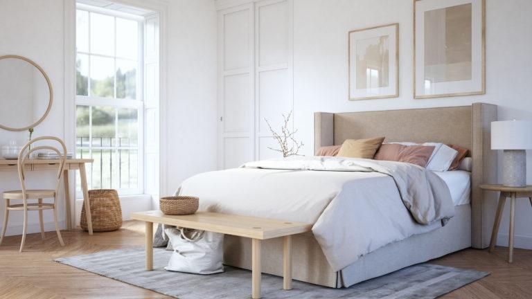 6 alapszabály, amit mindig fogadj meg a hálószoba dekorálásánál