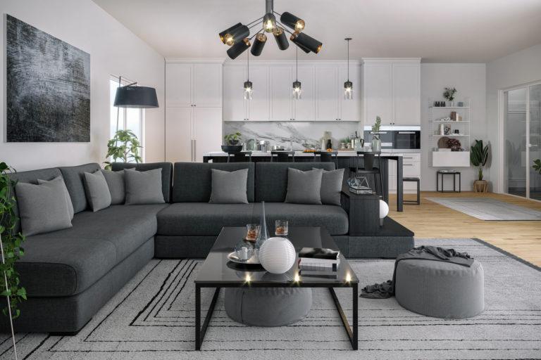 Szürke nappali ötletek – Az elegáns, modern és otthonos élettér kulcsa