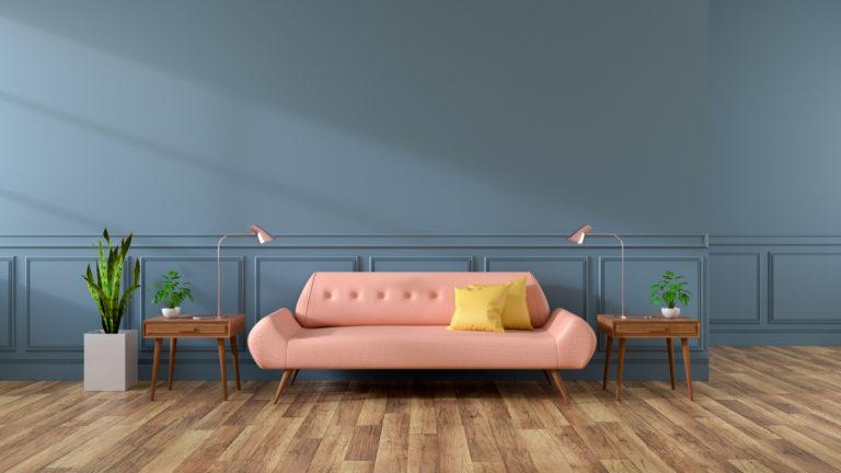 Tartsd a lépést a korral! Ezek a modern nappali falszínek a legnépszerűbbek napjainkban